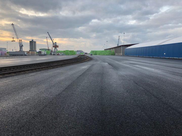 Nya terminalytor, Varberg