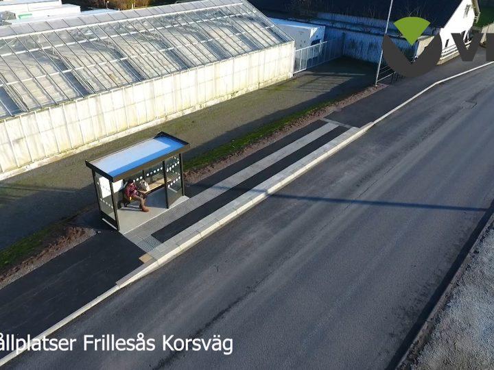 Tillgänglighetsanpassning av busshållplatser