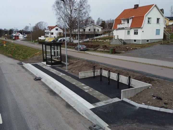 Busshållplatser i Norra Halland fortlöper enligt plan